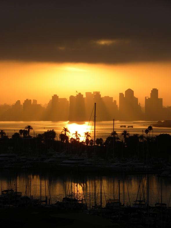My San Diego Sunrise